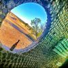 The famous Bottle House, Lightning Ridge